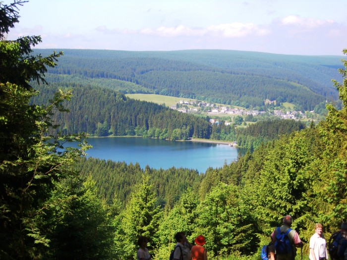 Stausee-Blick